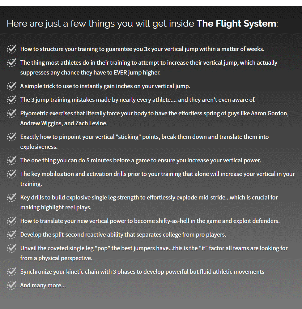 The Flight System Review: Can It Really BOOST Your Jump Height?