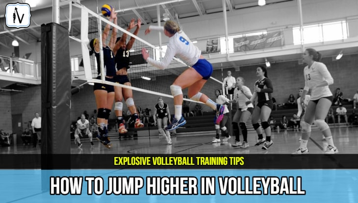 How To Jump Higher For Volleyball Fast: